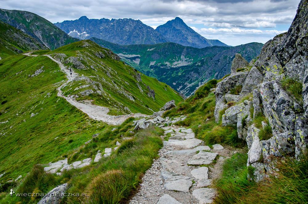 Szlak na Beskid w Tatrach