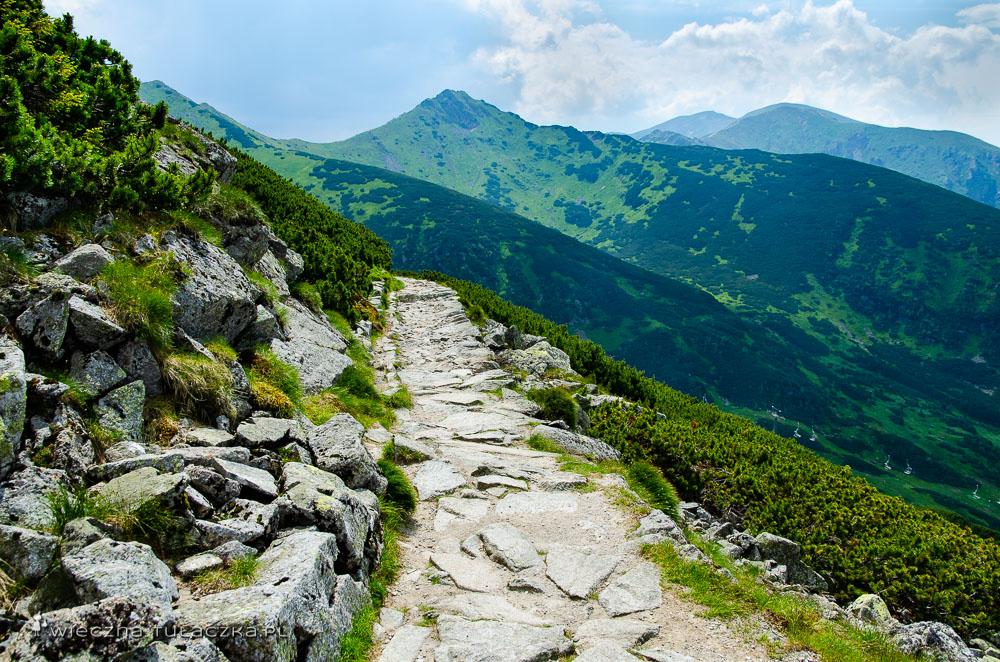 Opis zielonego szlaku na Kasprowy Wierch