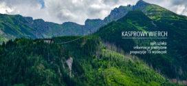 KASPROWY WIERCH – opis szlaku przez Myślenickie Turnie + propozycje 15 wycieczek