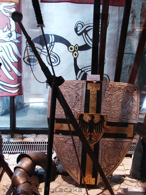 Eksponaty w Muzeum Grunwaldzkim