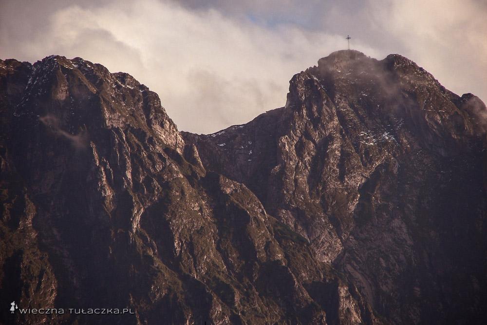 Giewont widziany z Zakopanego