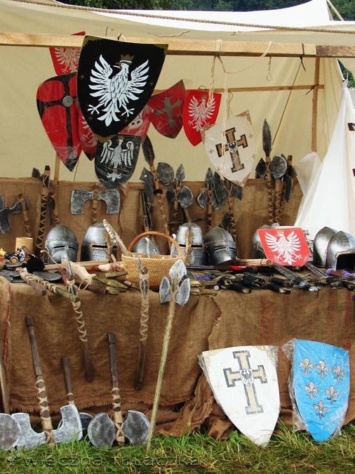 średniowieczny rynsztunek