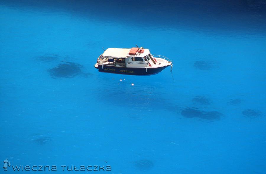 statek w Zatoce Wraku