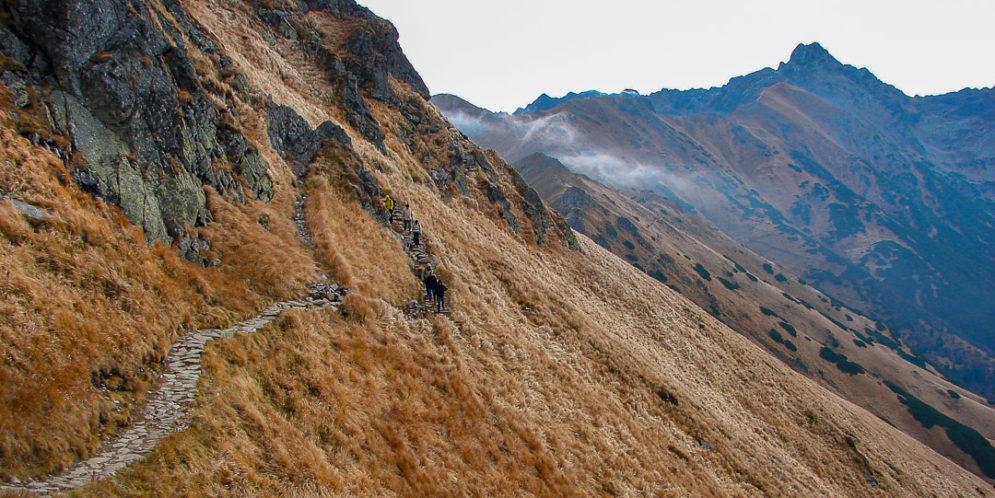 Na Giewont z Kasprowego Wierchu – jesienna wycieczka ponad Cichą Doliną