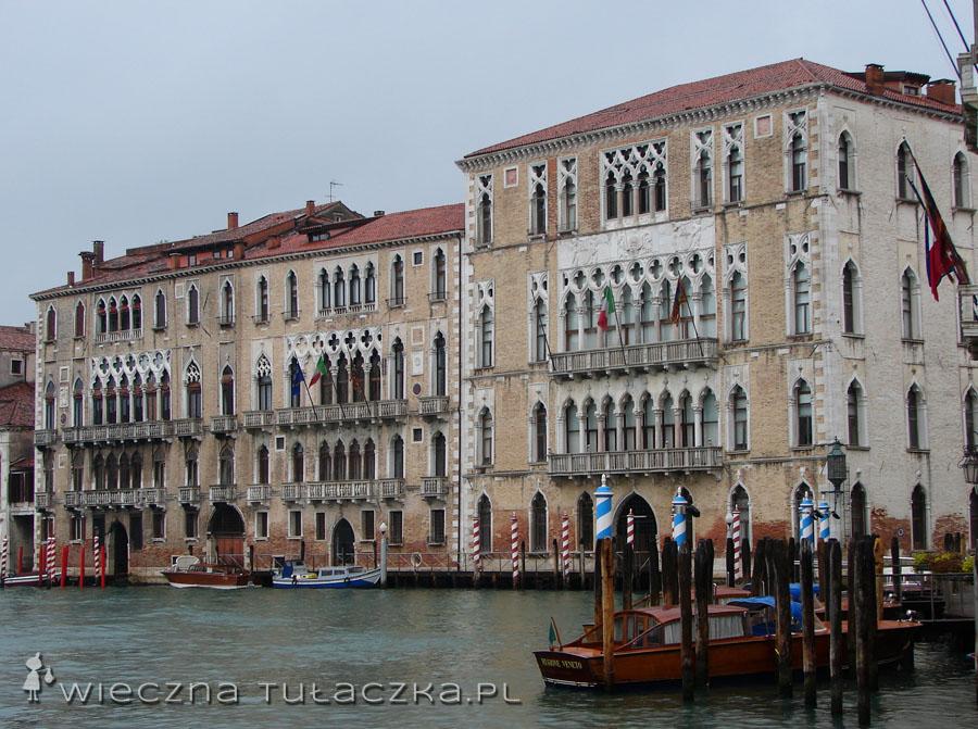 Palazzo Giustinian i Palazzo Foscari