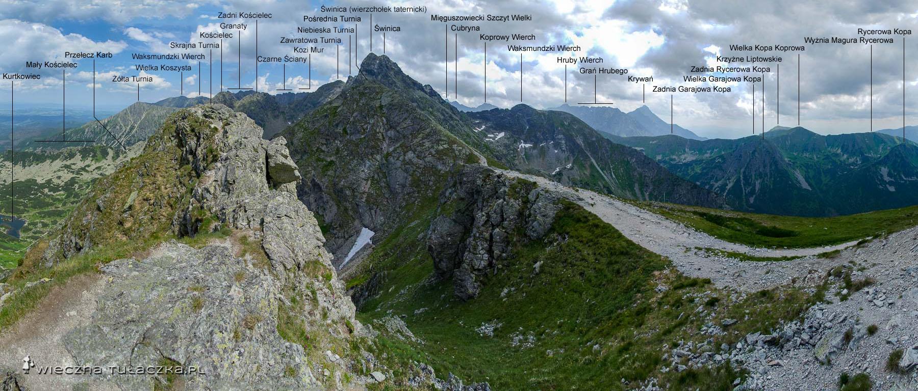Skrajna Turnia w Tatrach