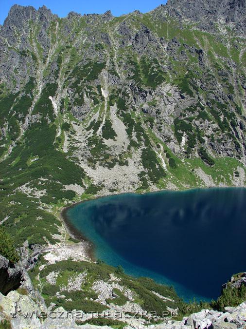 I nie trzeba jechać nad Lazurowe Wybrzeże, by oglądać taki kolor wody!