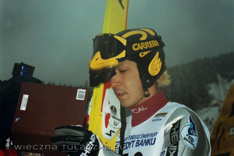 U Kasai zmieniają się tylko włosy ;) Chodząca historia skoków narciarskich.