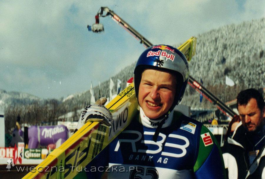 No i na koniec Andreas Goldberger, sprawca zamieszania, a raczej motyw naszej podróży do Austrii :)