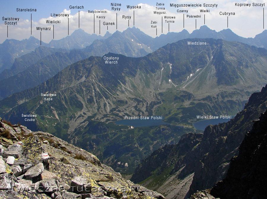 Klasyka gatunku: otoczenie Doliny Pięciu Stawów oraz Tatry Wysokie