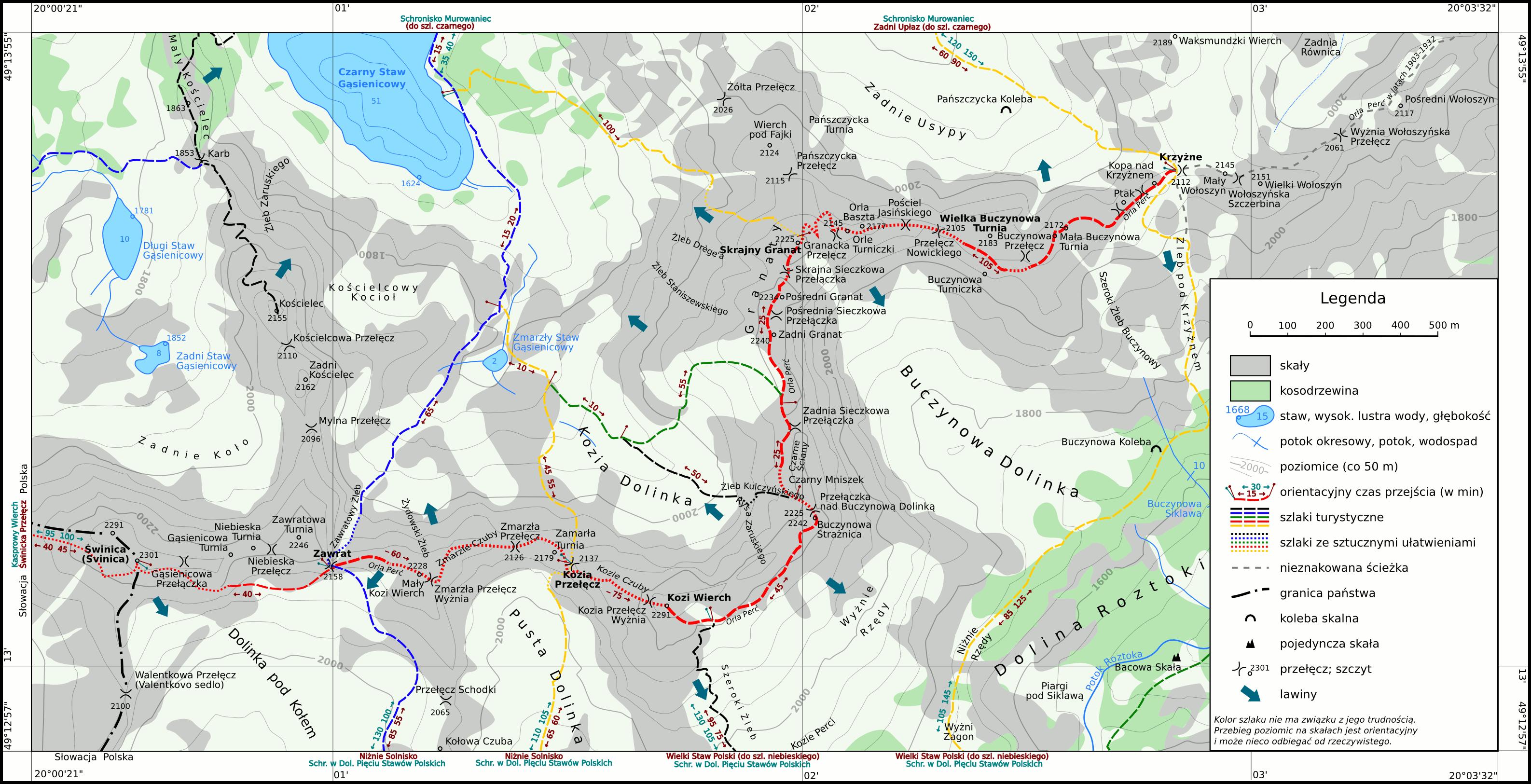 Mapka pochodzi ze strony http://www.klubpodroznikow.com/