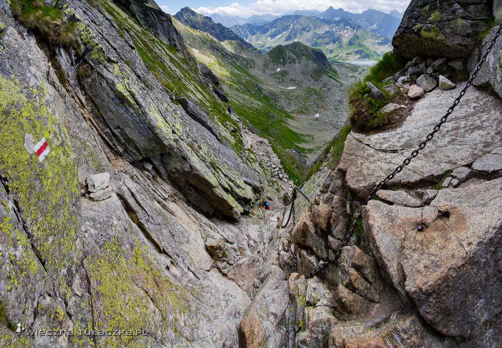 Szlak na Świnicę w Tatrach