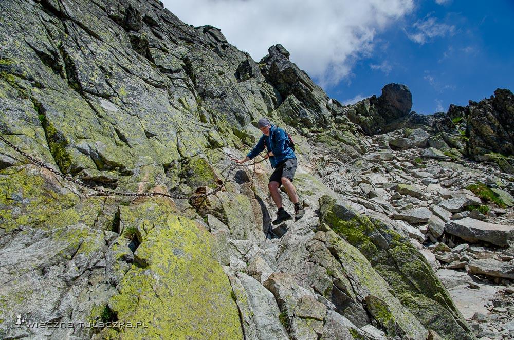 Szlak na Świnicę ze Świnickiej Przełęczy