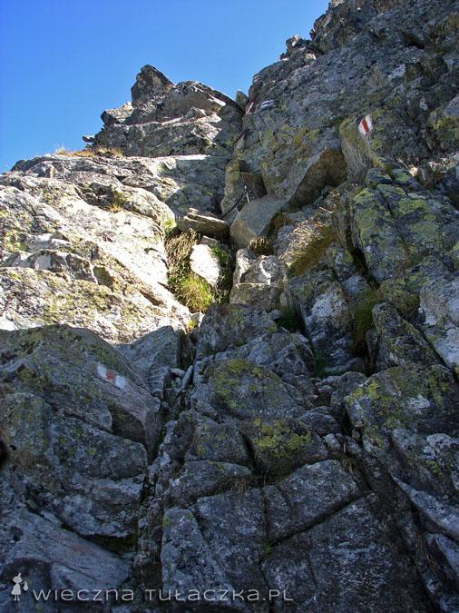 Wejście na Kozi Wierch