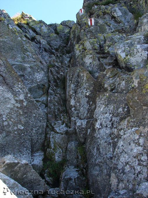Podejście na Kozi Wierch
