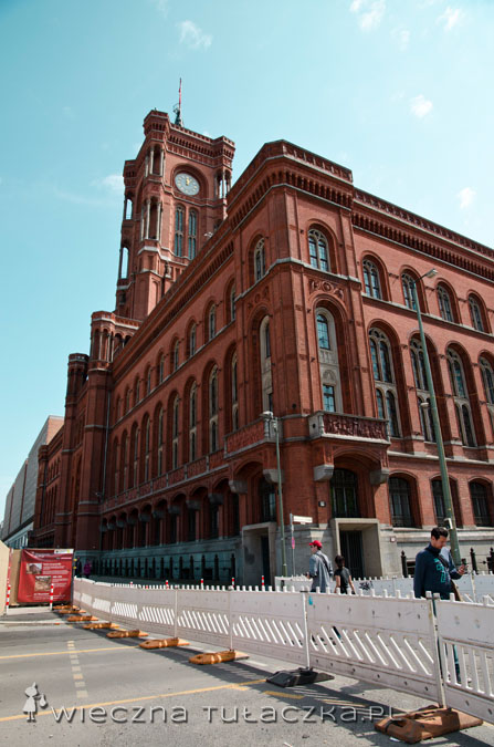 Rotes Berliner Rathaus