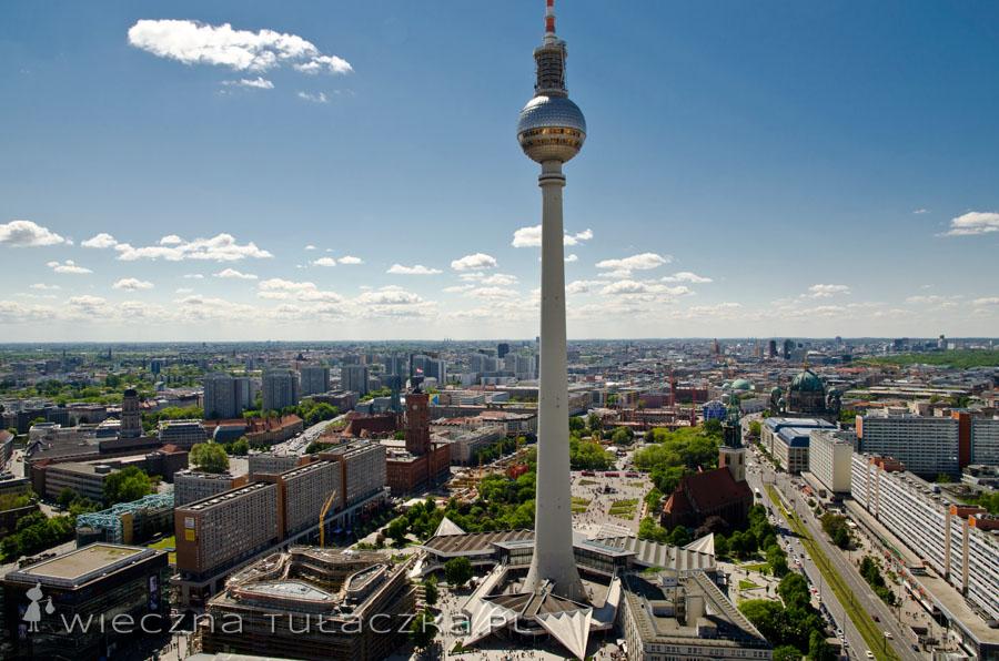 Hotel Park Inn oferuje panoramę Berlina z Kulą na pierwszym planie :)