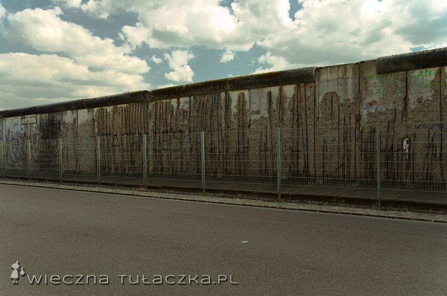 Mur berliński na Niederkirchnerstrasse