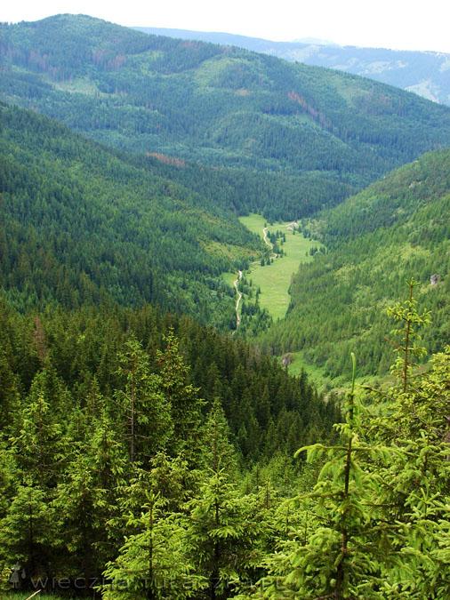 Dolina Jaworzynki widziana z Karczmiska