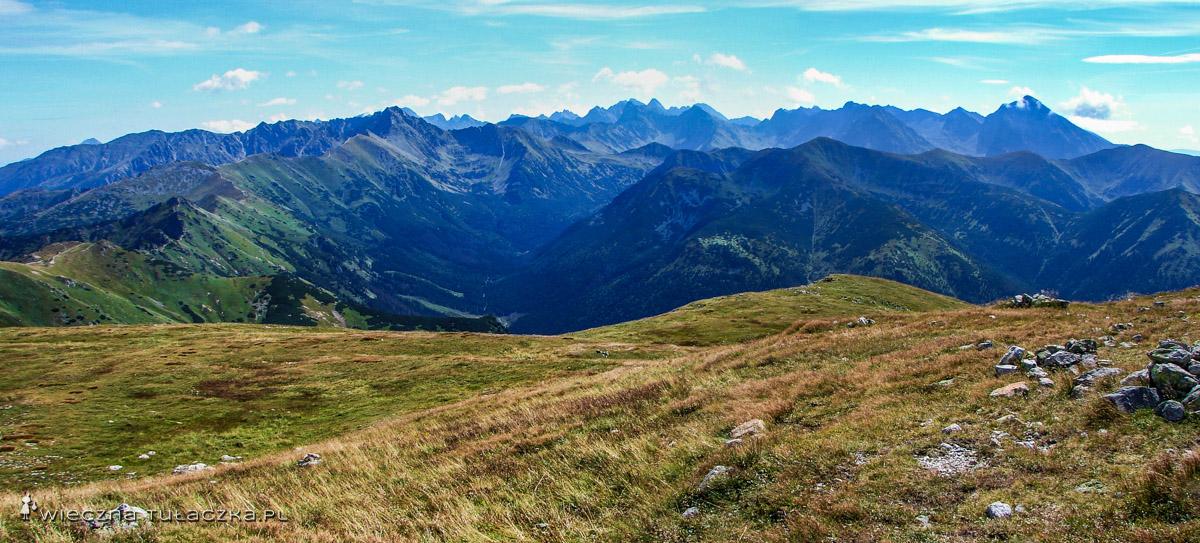 Panorama spod Ciemniaka