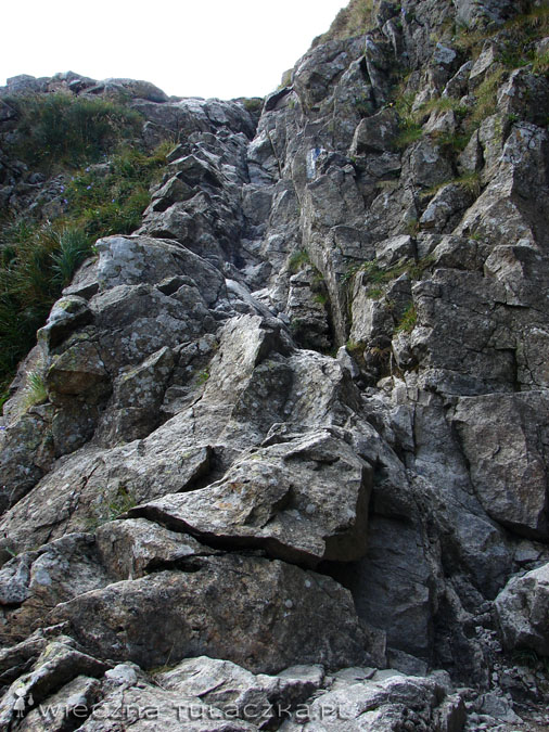 ...nie licząc krótkiego odcinka skalnego ;)