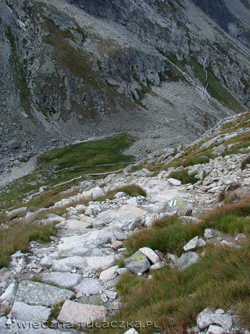Zielony szlak na Zadni Granat