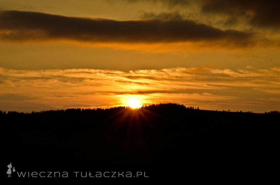 Sławetny wschód słońca - całkiem spoko nagroda za trudy nocnej wyrypy :D