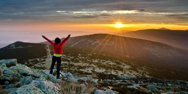 Karkonosze – wschód i zachód słońca na rykowisku