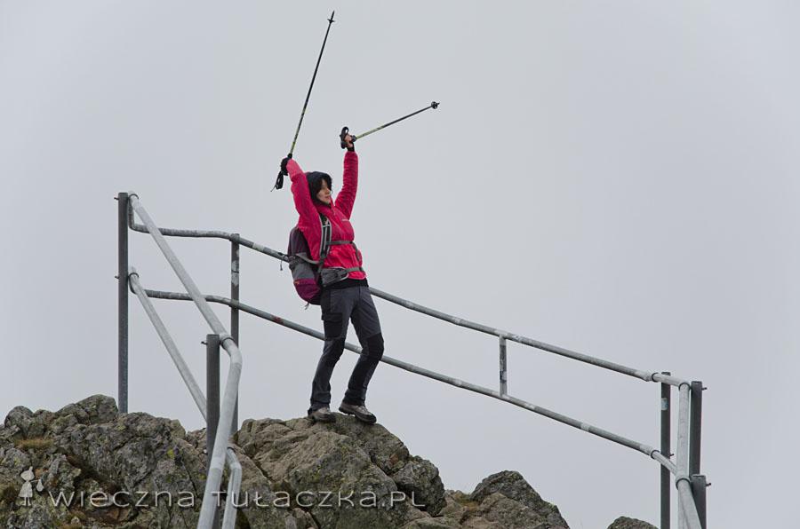 Jeśli szukacie hulającego wiatru, to najpewniej znajdziecie go na Śnieżce ;)