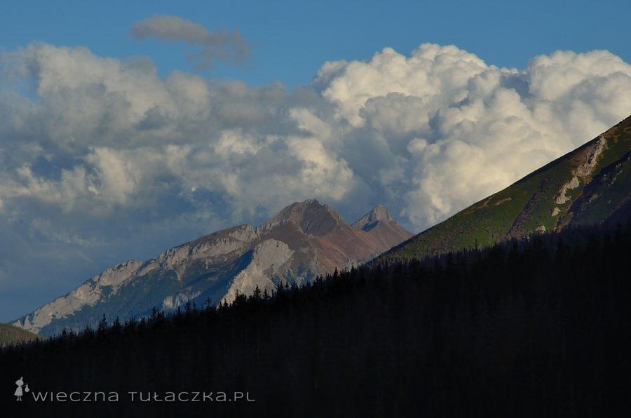 Bielskie pod chmurką :) Ale jaką!!Tatry Bielskie