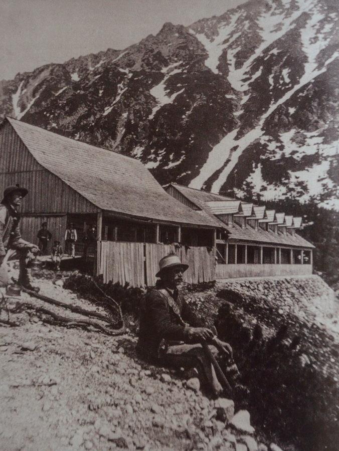 Pierwsze i drugie scronisko Towarzystwa Tatrzańskiego