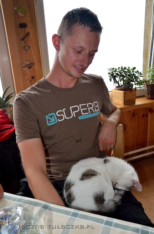 Tomek znalazł sobie nowego przyjaciela ;)