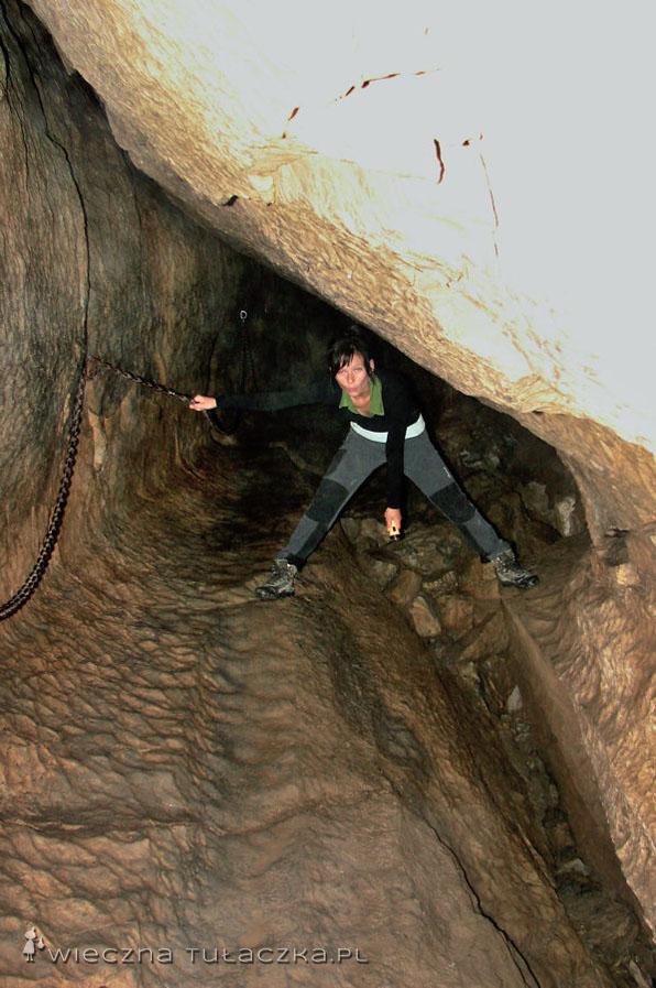 Łańcuchy w Jaskini Mylnej