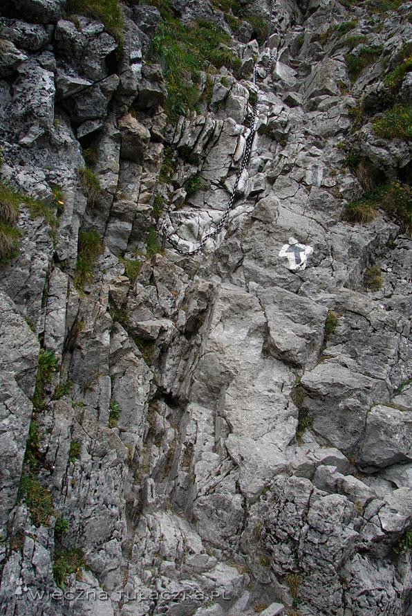 Szlak do Jaskini Raptawickiej.