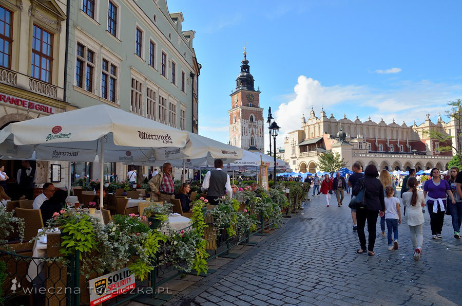 Rynek Główny w Krakowie