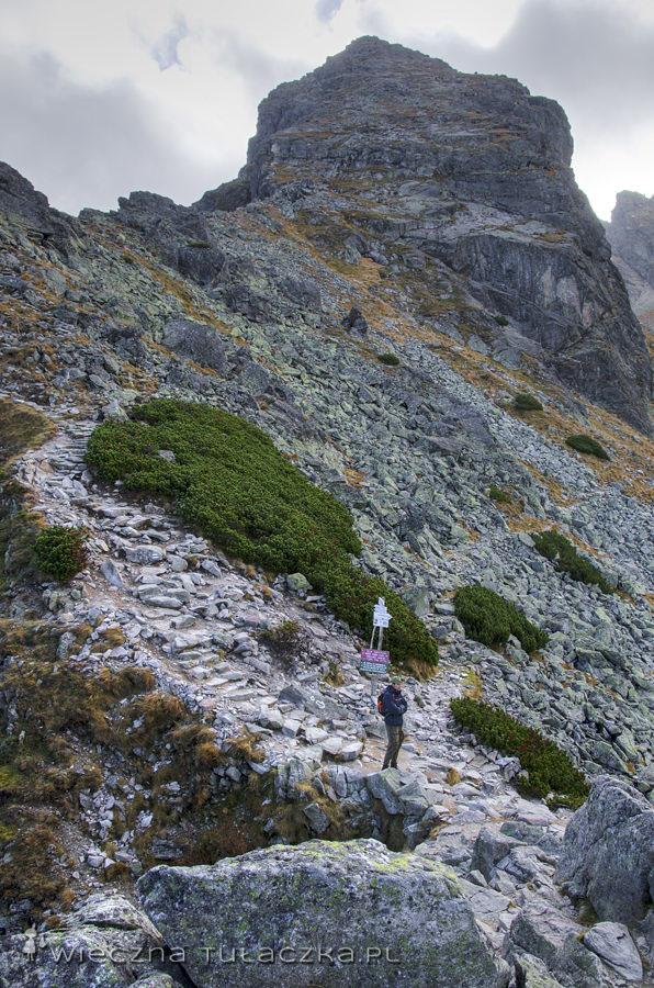 Przełęcz Karb i Kościelec