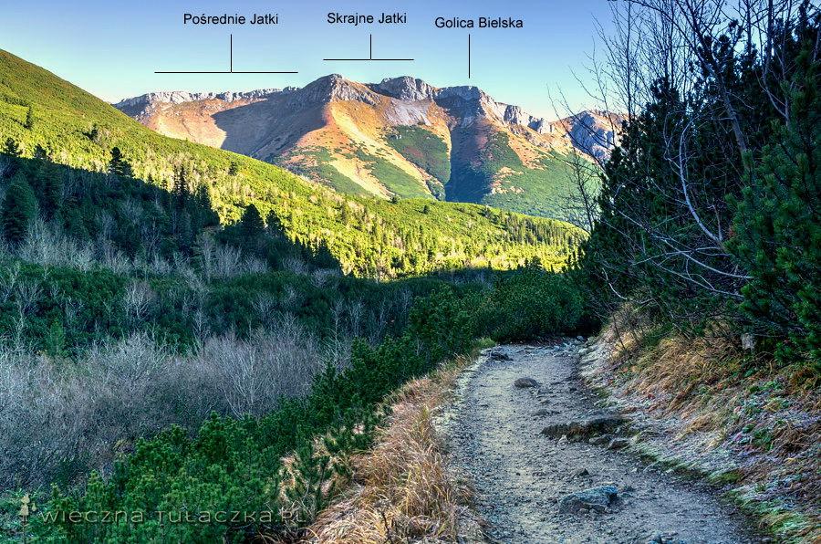 Szlak nad Zielony Staw Kieżmarski
