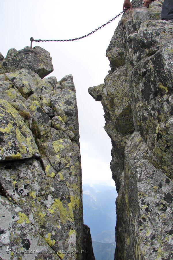 Szczelina w Granatach