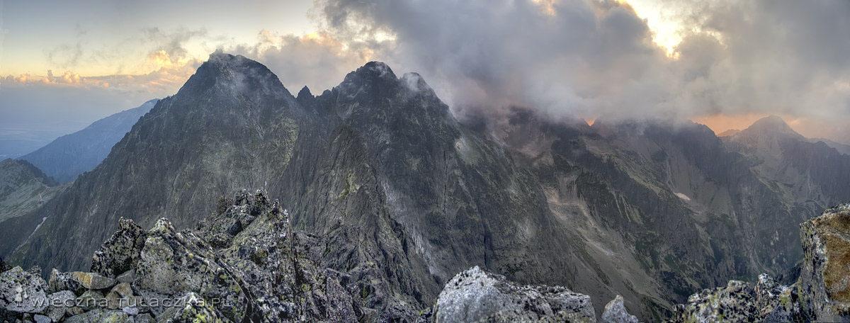 Kieżmarski Szczyt panorama