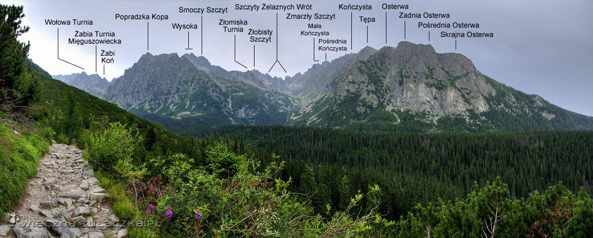 Dolina Mięguszowiecka i Dolina Złomisk