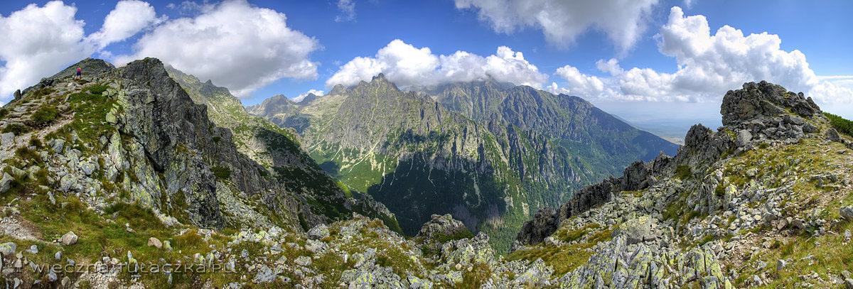 Sławkowski Grzebień - panorama