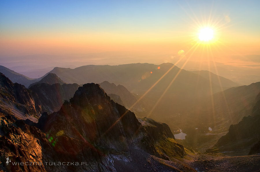 Baranie Rogi - wschód słońca