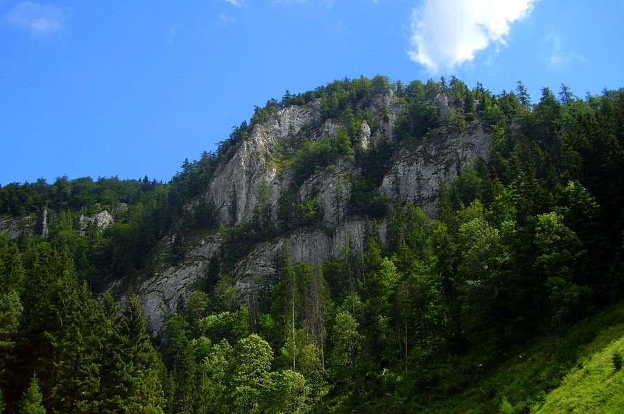 Havrania skala, Słowacki Raj