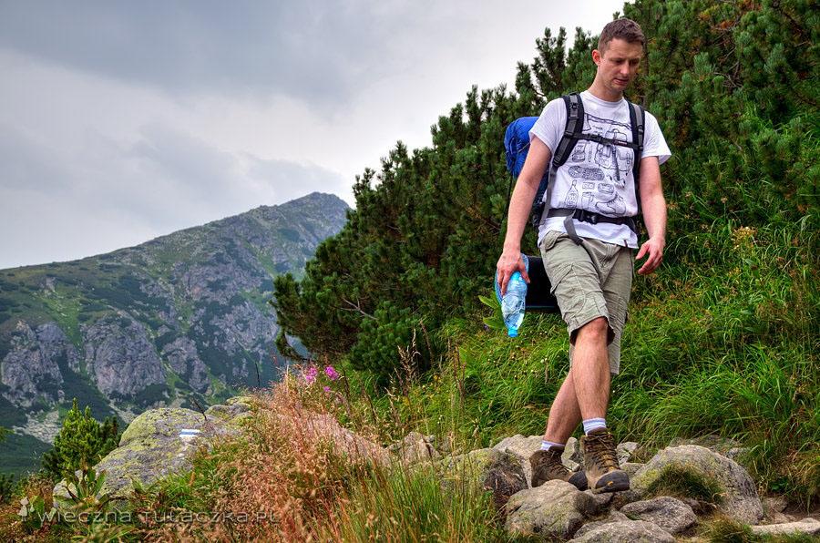 Dolina Furkotna - szlak do schroniska na Solisku