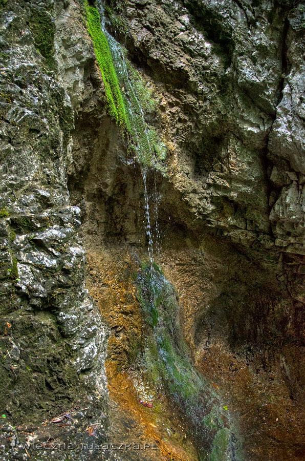 Misowy Wodospad, Sucha Bela