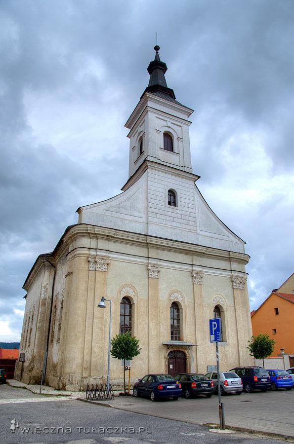 Spiskie Podgrodzie - kościół ewangelicki