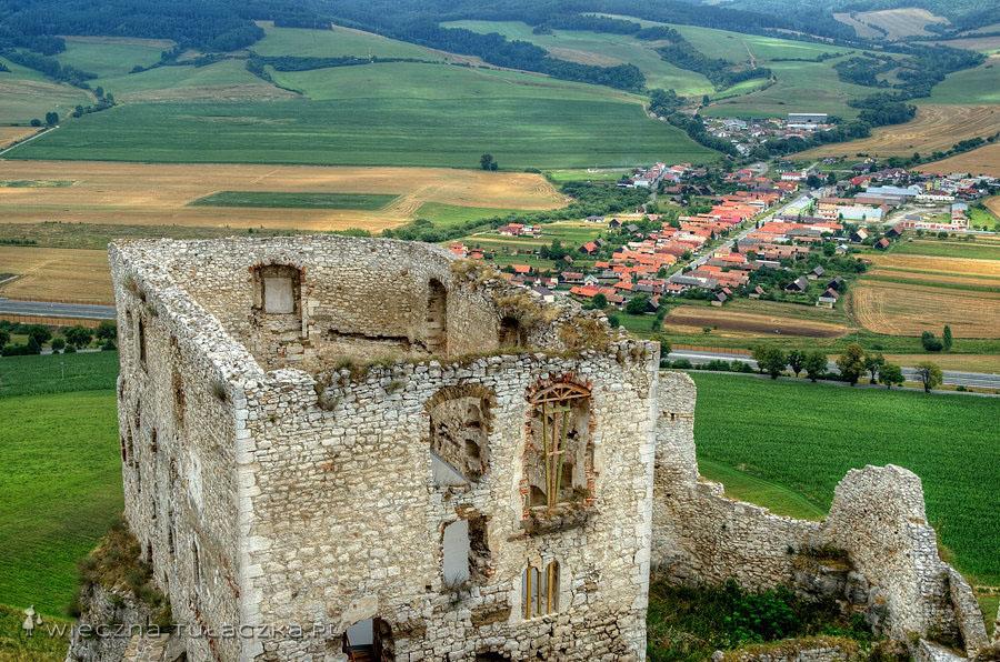 Spiski Zamek - Pałac Romański