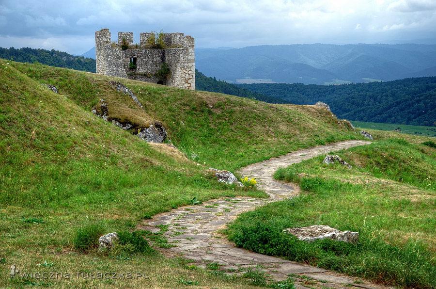 Zamek Spiski - baszta