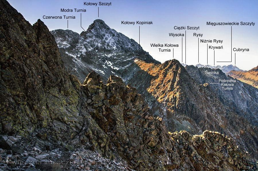Szlak na Jagnięcy Szczyt