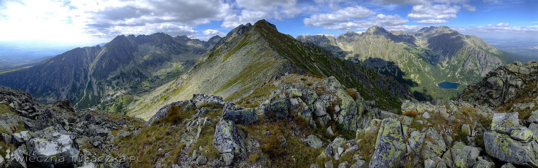 Skrajna Baszta panorama
